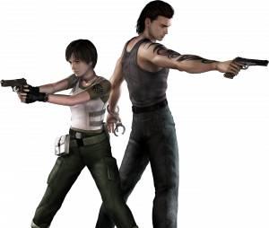 """Protagonistas de """"Resident Evil 0"""": veja como ficou o remake de Rebecca e Billy"""