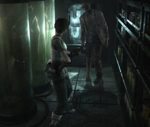 """Cenários escuros e aterrorisantes de """"Resident Evil 0"""""""