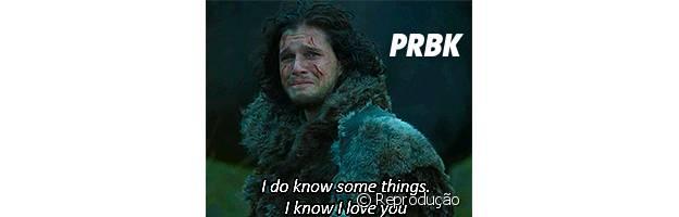 "Jon Snow de ""Game of Thrones"" says I Love You"