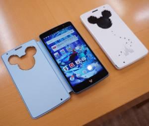 """O smartphone da Disney é lançado apenas no Japão, pela LG, e se chama """"LG DM-01G"""""""