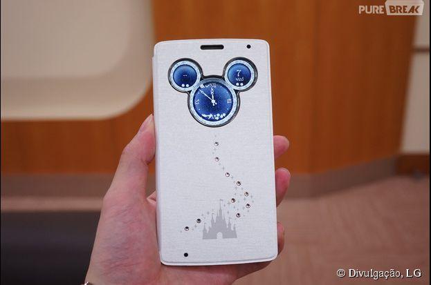 """A LG está lançando o aparelho """"LG DM-01G"""" inspirado no mundo da Disney"""