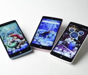 """Esse é o smartphone """"LG DM-01G"""", da LG, totalmente personalizado com temas da Disney"""