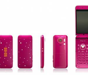 Para as meninas, os smartphones da Disney possuem brilhos da Cinderela
