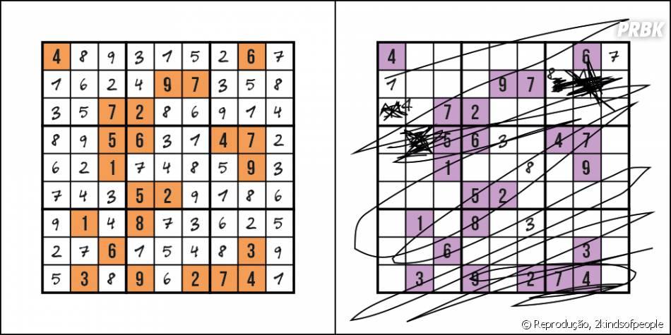 Você consegue brincar com esses jogos de lógica ou perde a paciência?