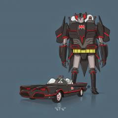 Veja o Batmóvel e outros carros da cultura pop que viraram Transformers!