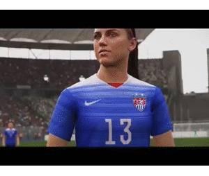 """No começo de Junho a desenvolvedora de """"Fifa 16"""" confirmou a presença do time feminino no game"""