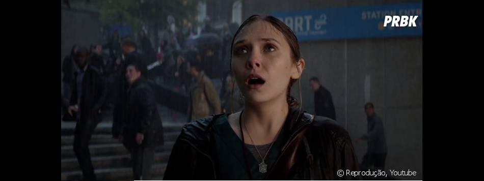 """Elizabeth Olsen interpreta uma enfermeira em """"Godzilla"""""""