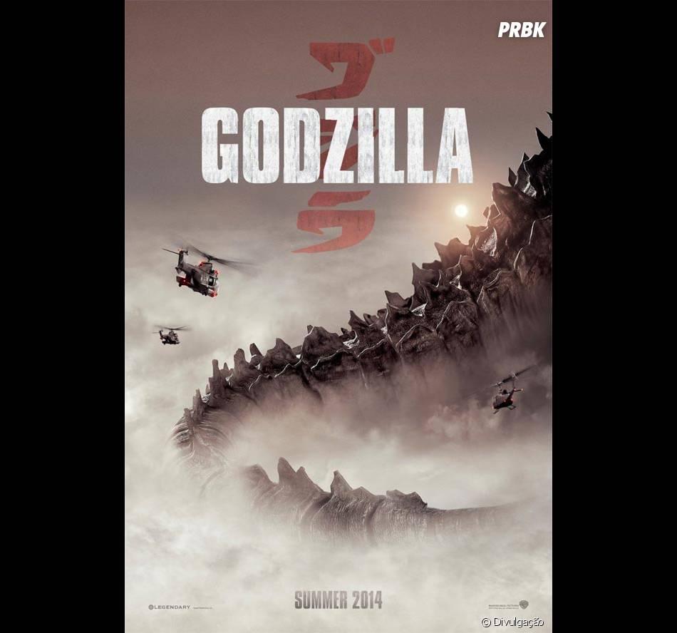 """""""Godzilla"""" vai chegar aos cinemas em 16 de maio de 2014"""