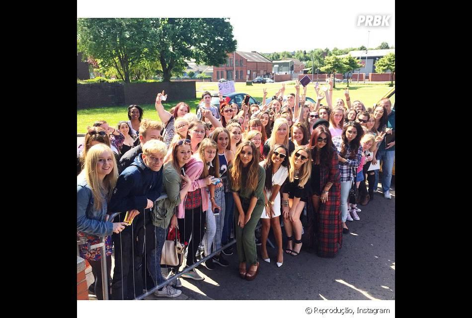 As meninas da Little Mix estão ansiosas para conhecer seus fãs de todos os lugares do mundo!