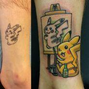 30 tatuagens mal feitas que foram cobertas por super tatuadores e viraram desenhos incríveis!