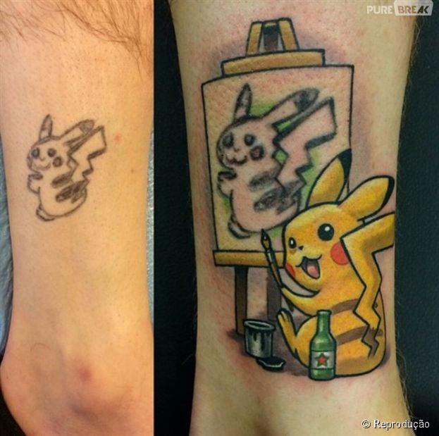 Top 30 tatuagens mal feitas que foram cobertas por super tatuadores e  SG84