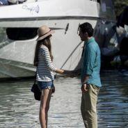 """Novela """"Verdades Secretas"""": Angel (Camila Queiroz) descobre que Alex é pai de Giovanna. Climão!"""
