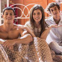 """Novela """"Malhação"""": Bianca sonha com João e Duca em fanfic que vai virar realidade na trama!"""