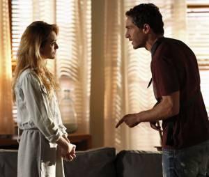 """Em """"Sete Vidas"""", Felipe (Michel Noher) e Júlia (Isabelle Drummond) terminaram muito confusos, mas se resolvem"""