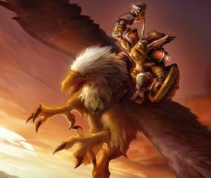 """Voar em um grifo por Azeroth como se fosse de verdade vai ser possível com o aplicativo da Legendary Pictures, produtora do filme """"Warcraft"""""""