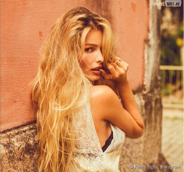 """Yasmin Brunet fala sobre ciúmes do marido, o modelo Evandro Soldati, das cenas quentes de """"Verdades Secretas"""""""