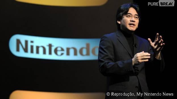 CEO da Nintendo Satoru Iwata facele aos 55 anos