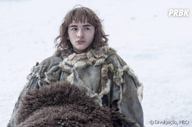 """Em """"Game of Thrones"""", Bran (Isaac Hempstead Wright) está de volta e mais experiente!"""
