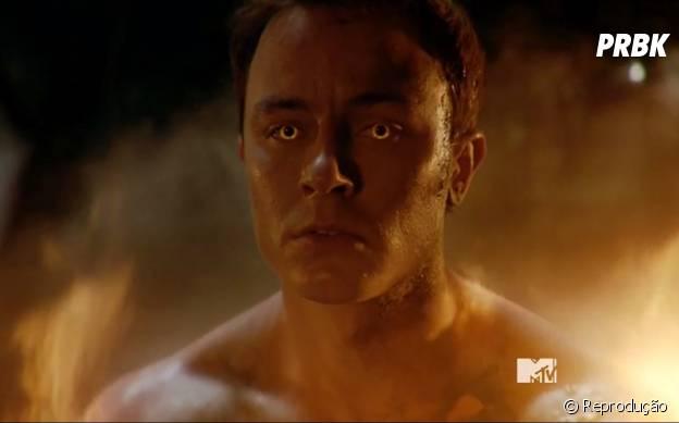"""Parrish (Ryan Kelley) anda fazendo umas coisas bem estranhas em """"Teen Wolf"""" enquanto ainda não descobre o que é"""
