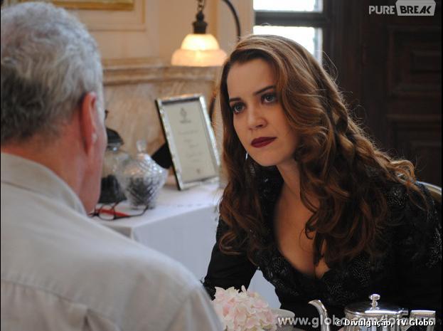 """Sílvia (Nathalia Dill) descobrirá toda a verdade sobre seu pai antes de morrer em """"Joia Rara""""!"""