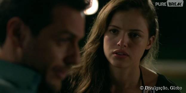 """Giovanna (Agatha Moreira) vai chantagear Alex (Rodrigo Lombardi) em """"Verdades Secretas"""""""