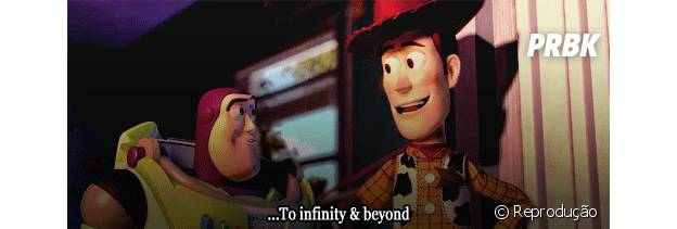 Para o infinito e além, amigos!