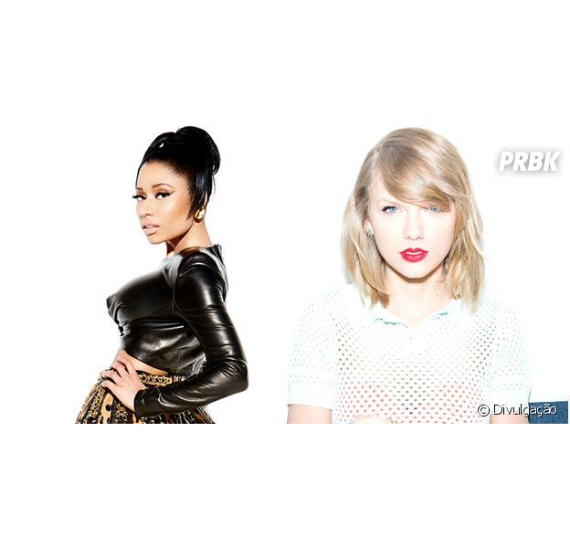 Nicki Minaj e Taylor Swift têm briga no Twitter por indicações ao VMA 2015