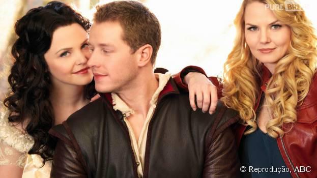 """Nova fase de Emma (Jennifer Morrison) em """"Once Upon a Time"""" abala relação da protagonista com Charming (Josh Dallas) Snow (Ginnifer Goodwin)"""