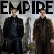 """De """"Batman Vs Superman"""": Bruce Wayne (Ben Affleck) e Clark Kent (Henry Cavill) aparecem lado a lado!"""