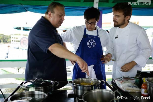 "O ""MasterChef Brasil"" desta terça-feira (4), recebe a visita do chefFelipe Schaedler"