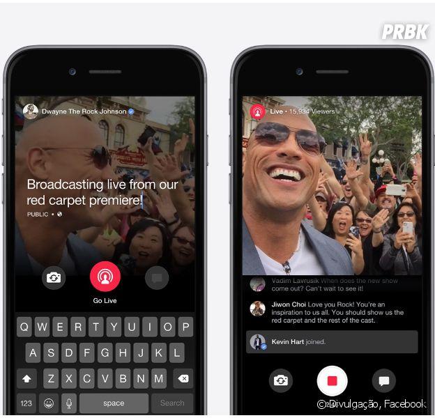 Facebook Live é lançado e permite que perfis com simbolo azul façam vídeos ao vivo na rede social