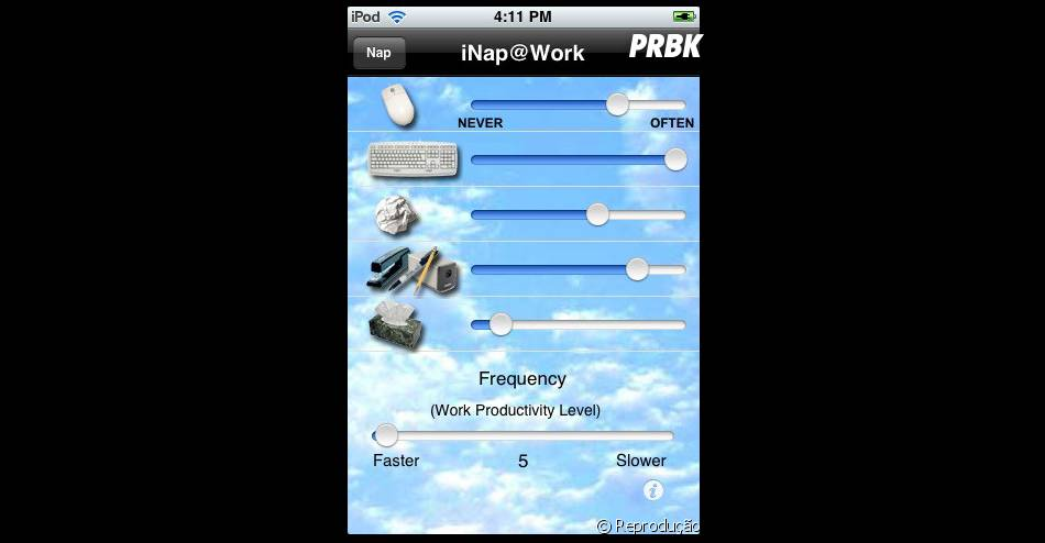 iNap@Work: promete te ajudar a dormir no trabalho sem ser pego