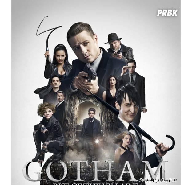 """Em """"Gotham"""", os vilões ganham destaque no poster da nova temporada"""