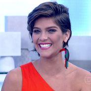 """Isabella Santoni fala sobre Rafael Vitti e fim de """"Malhação"""" no """"Encontro com Fátima Bernardes"""""""