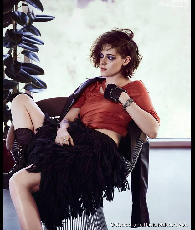 Kristen Stewart comenta decisão de não assumir orientação sexual publicamente