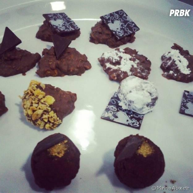 Os doces são a grande paixão de Marina Albacete