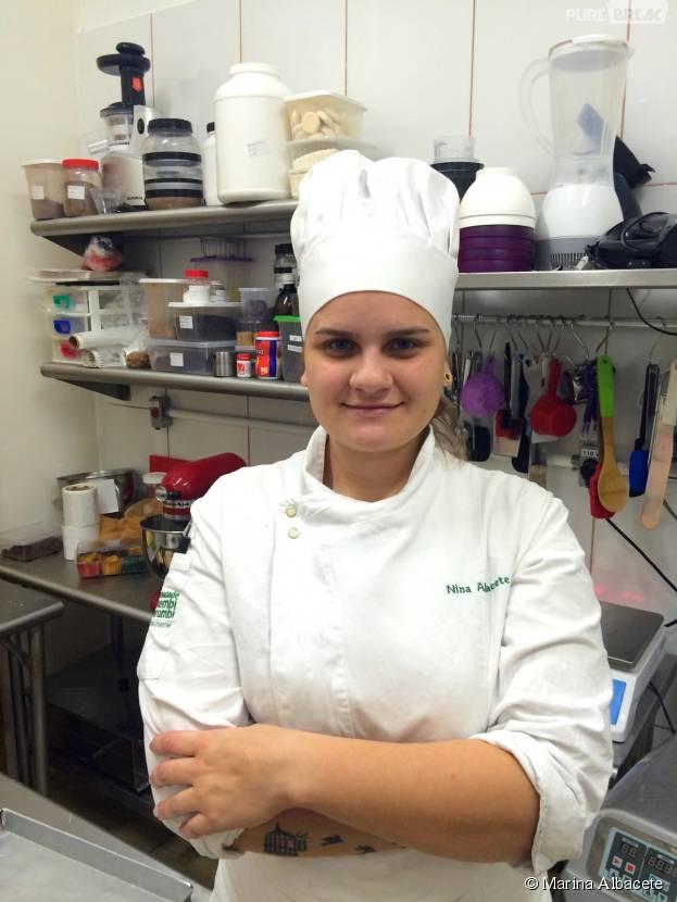 Marina Albacete é uma profissional da Gastronomia