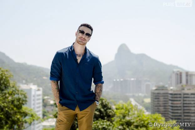 "Felipe Titto é o apresentador do ""Are You The One? Brasil"", da MTV"