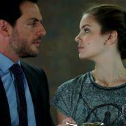 """Novela """"Verdades Secretas"""": Carolina flagra Angel (Camila Queiroz) e Alex em momento íntimo!"""