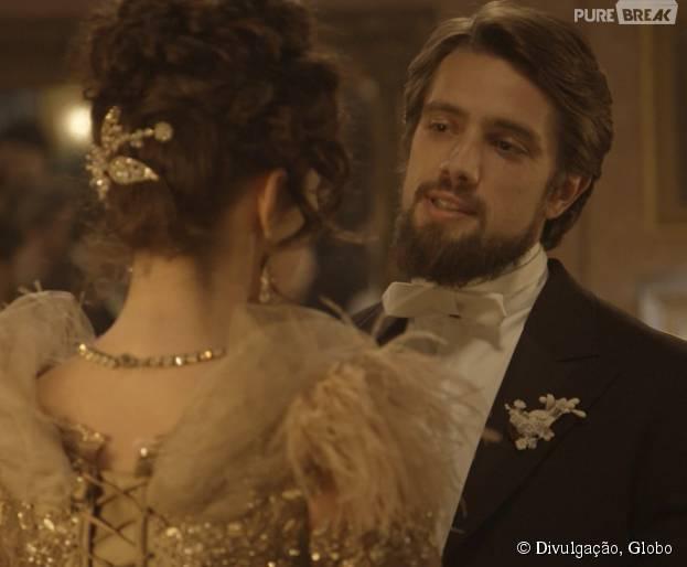 """Felipe (Rafael Cardoso) pede Melissa (Paolla Oliveira) em casamento em """"Além do Tempo"""""""