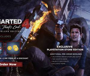"""Uncharted 4: A Thief's End"" terá uma Digital Deluxe Edition com bônus exclusivos"
