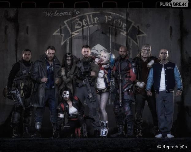 """O diretor David Ayer (""""Corações de Ferro"""") já compartilhou a primeira imagem de """"Esquadrão Suicida"""""""