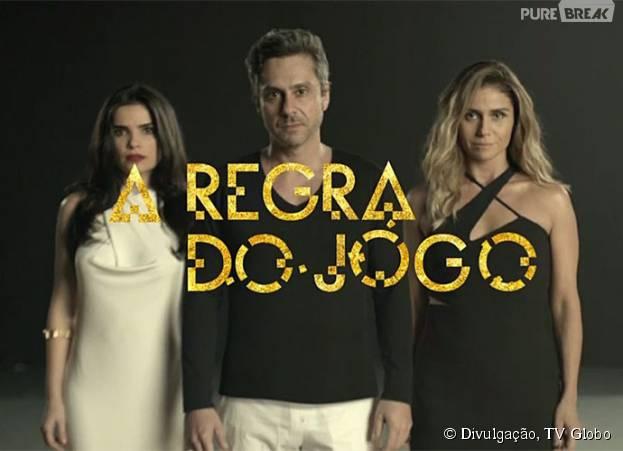 """A novela """"A Regra do Jogo"""", da Globo, está repercutindo bastante nas redes sociais!"""