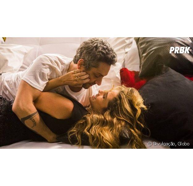 """Em """"A Regra do Jogo"""": Atena (Giovanna Antonelli) planeja dar golpe em Romero (Alexandre Nero)!"""