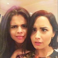 Demi Lovato e Selena Gomez postam selfie no Instagram e mostram que são BFF de novo