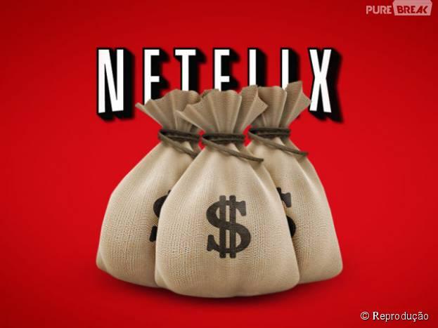 Não se espante quando a sua conta da Netflix chegar ainda mais cara