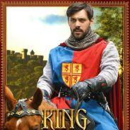 """Em """"Once Upon a Time"""": na 5ª temporada, Rei Arthur (Liam Garrigan) é destaque em pôster!"""