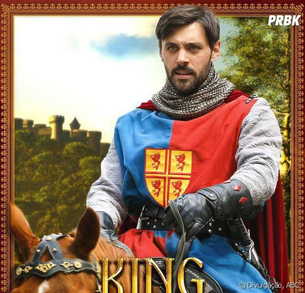 """Em """"Once Upon a Time"""": Rei Arthur (Liam Garrigam) ganha destaque em novo pôster promocional!"""
