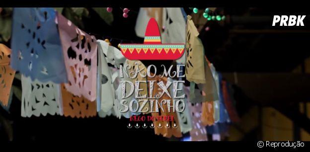 """Nego do Borel no clipe da música """"Não Me Deixe Sozinho"""""""