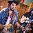 """Rodrigo, vocalista da banda Suricato, define show da banda no Rock in Rio como """"uma festa"""""""